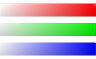 RGBカラーバー
