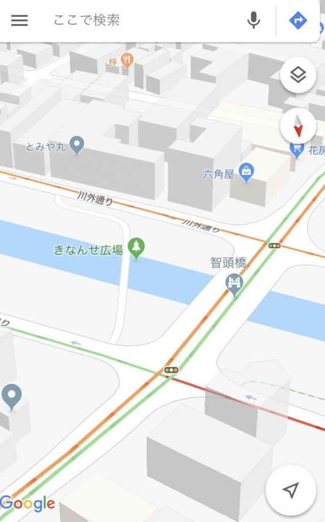 Google Mapがおかしい?