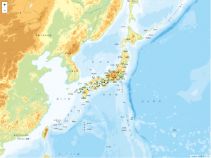 googleMapを他の地図データに置き換えてみよー