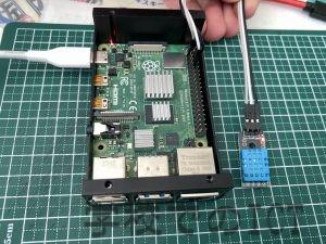 Raspberryで温度計を作製してみた