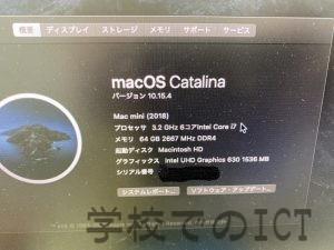 MacMiniのメモリ増設